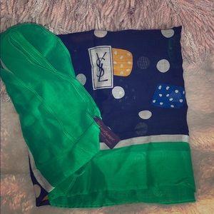 Yves St Laurent scarf